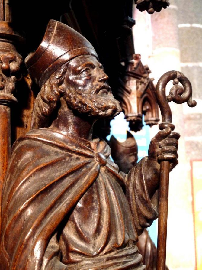 Saint samson eveque fondateur de l eveche de dol