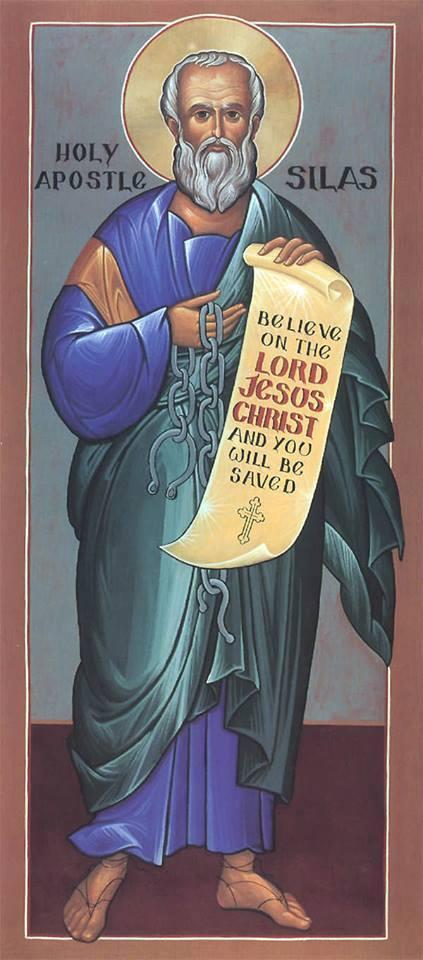 Saint silvain ou silas