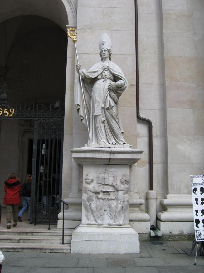 Saint virgilius salzburg