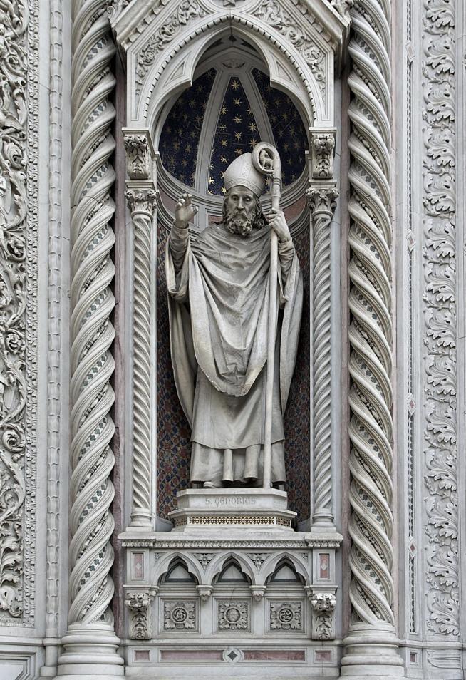 Saint zenobius florence