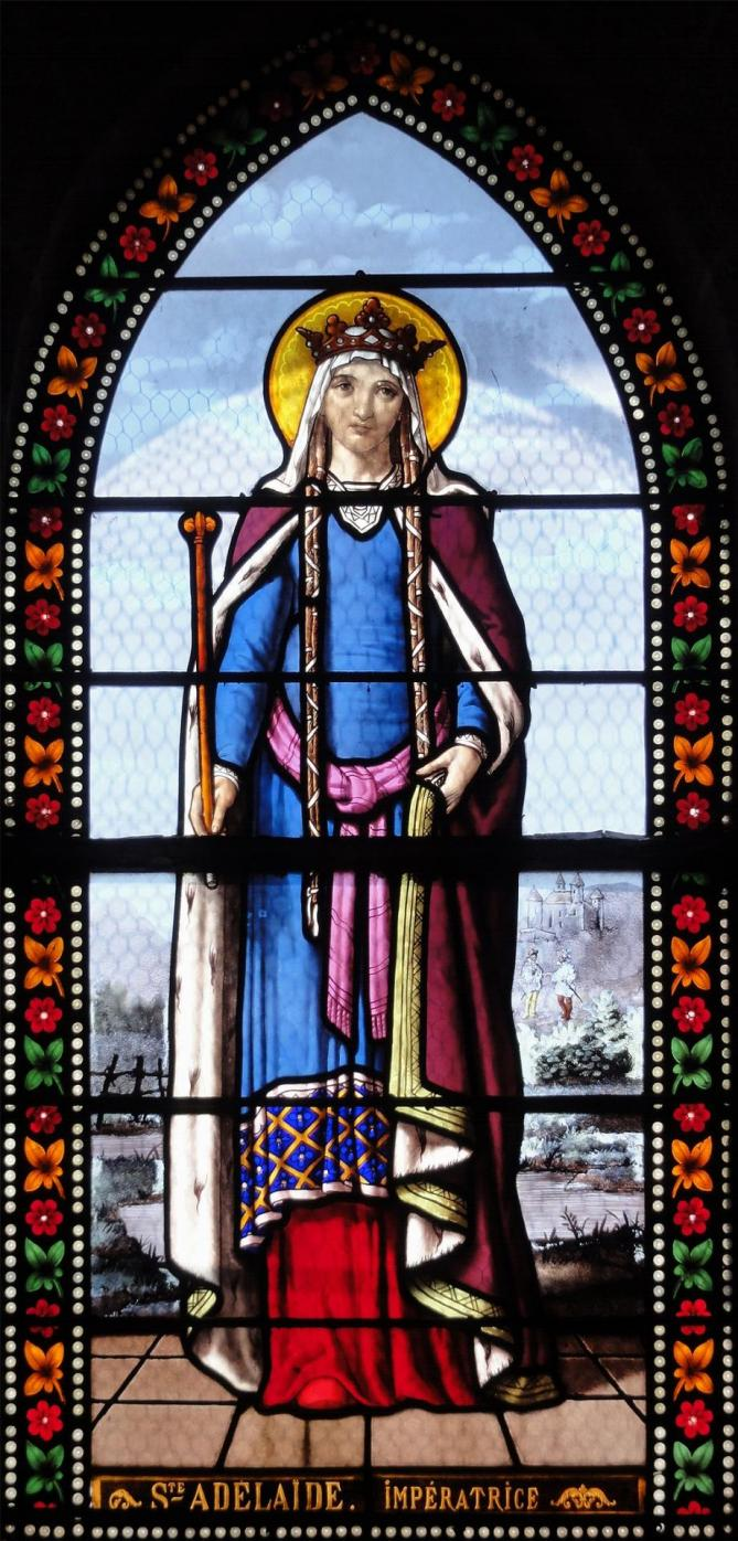 Sainte adelaide eglise de toury vitraux par lorin 11