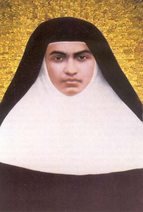 Sainte alphonsine de l immaculee conception anne muttathupadathu vierge clarisse 1