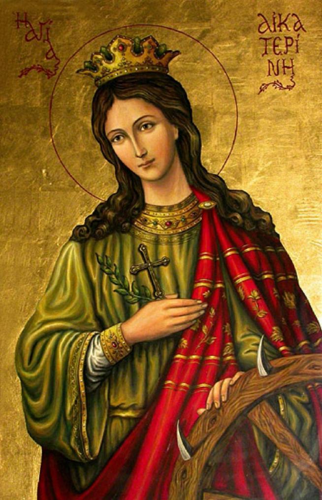 Sainte catherine d alexandrie 11