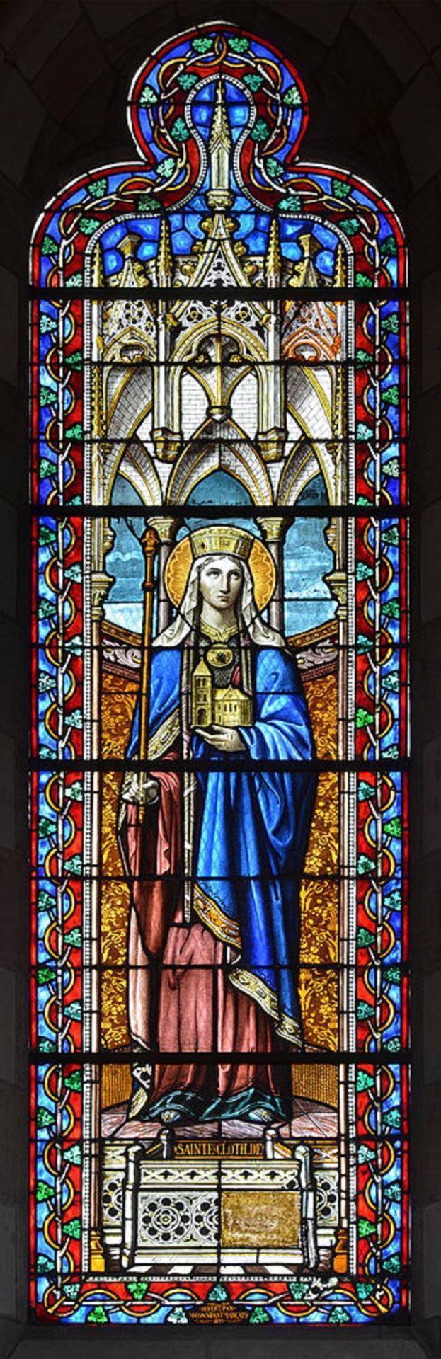 Sainte clotilde reine des francs 11
