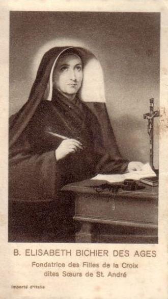 Sainte elisabeth bichier des ages