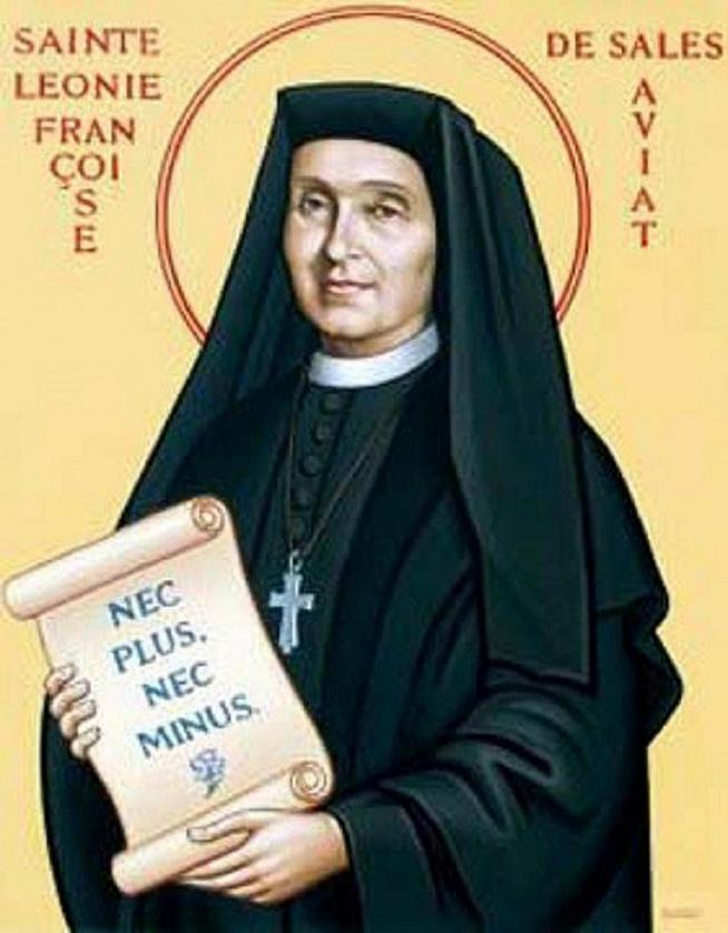 Sainte leonie francoise de sales aviat 11
