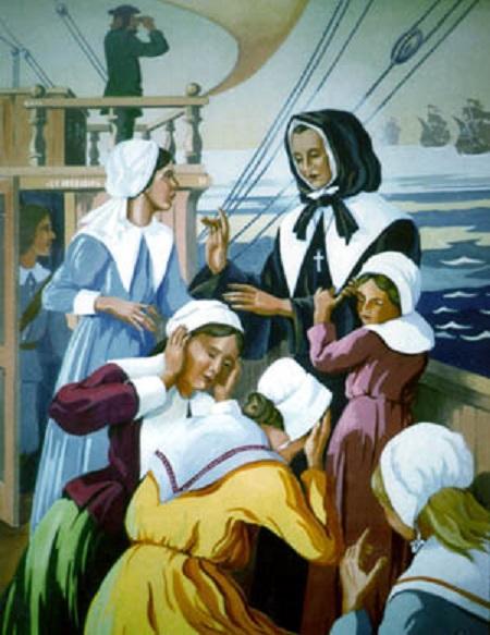 Sainte marguerite bourgeoys fondatrice de la congregation notre dame a montreal 2