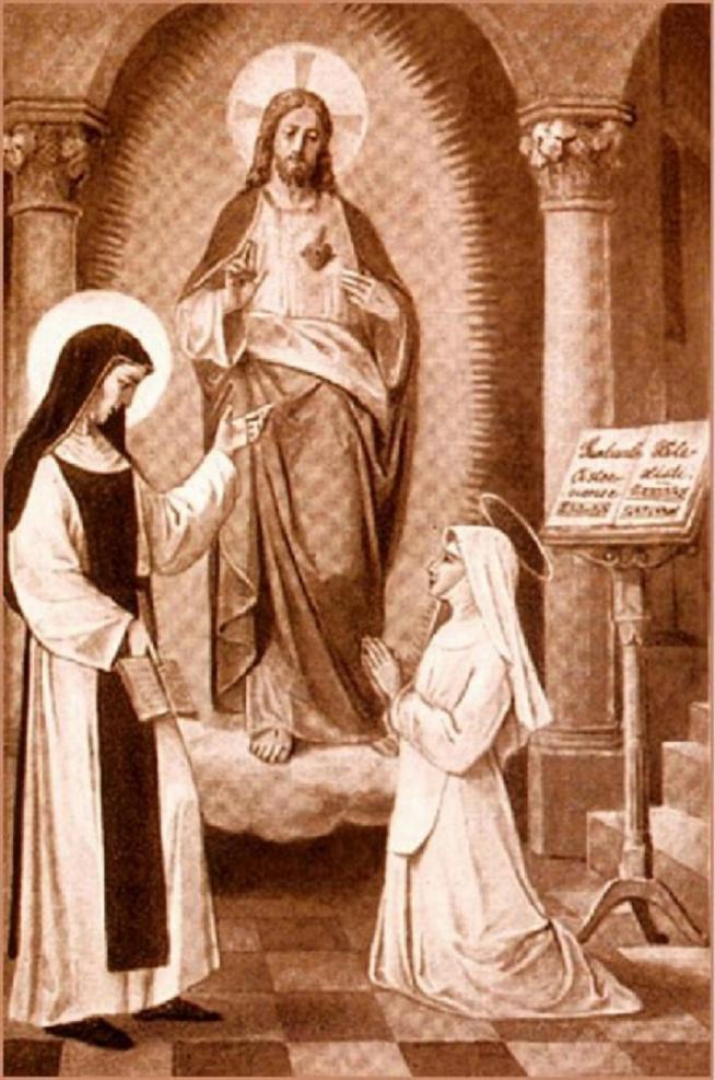 Sainte mechtilde et sainte gertrude sa s ur 11