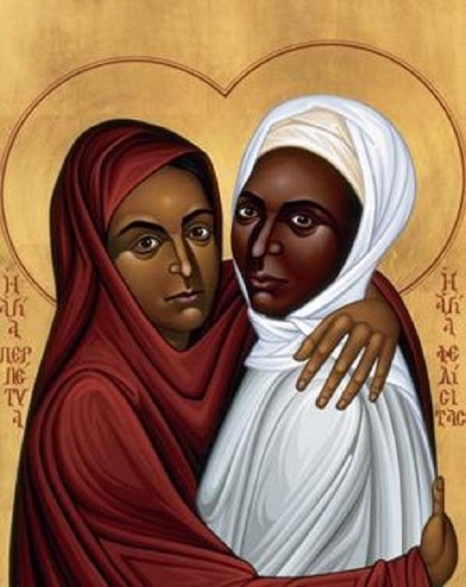 Sainte perpetue et sainte felicite icone 2 2