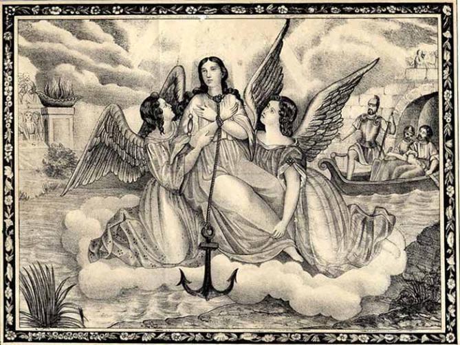 Sainte philomene martyre iiie siecle 1