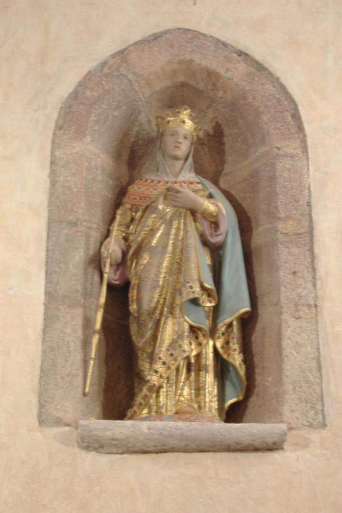Sainte radegonde statue
