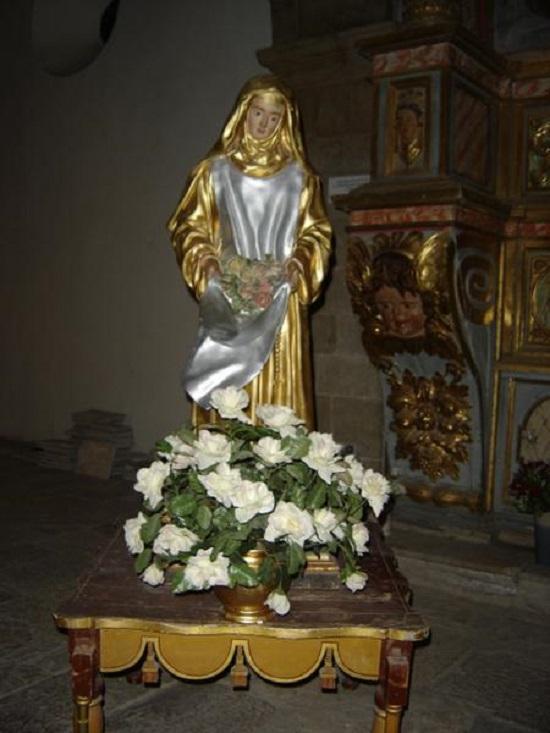 Sainte roseline statue 2