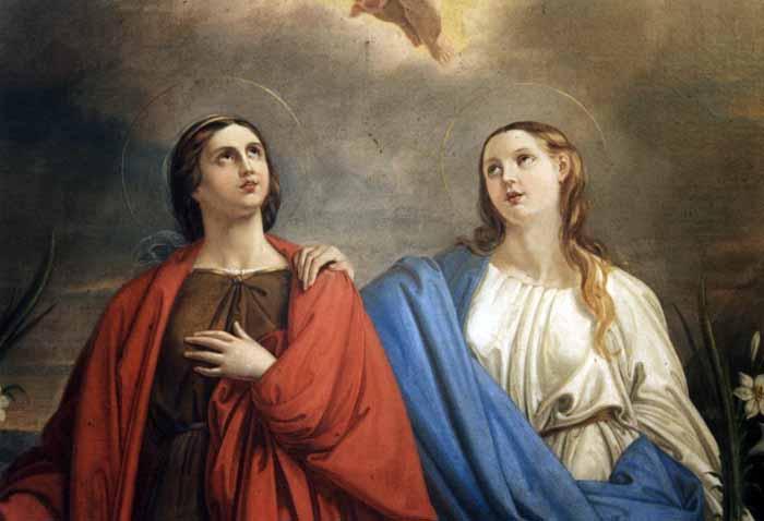 Rome Chrétienne et ses monuments - EUGENE DE LA GOURNERIE - 1867 Sainte-rufine-et-sainte-seconde-vierges-et-martyres-iiieme-s