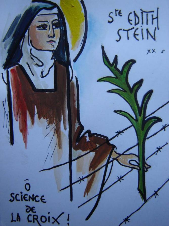 Sainte therese benedicte de la croix 1