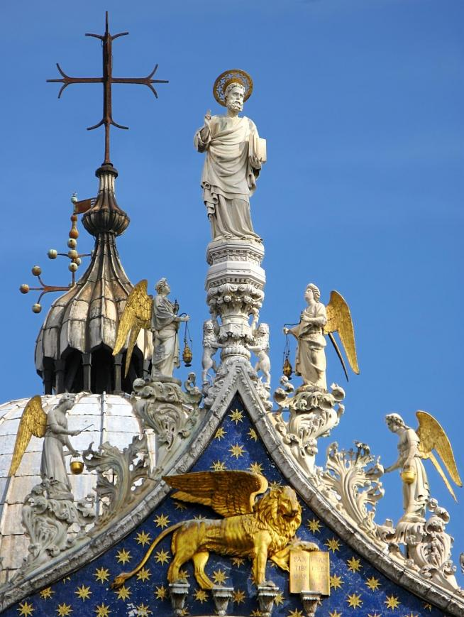 San marco cathedral in venice 11