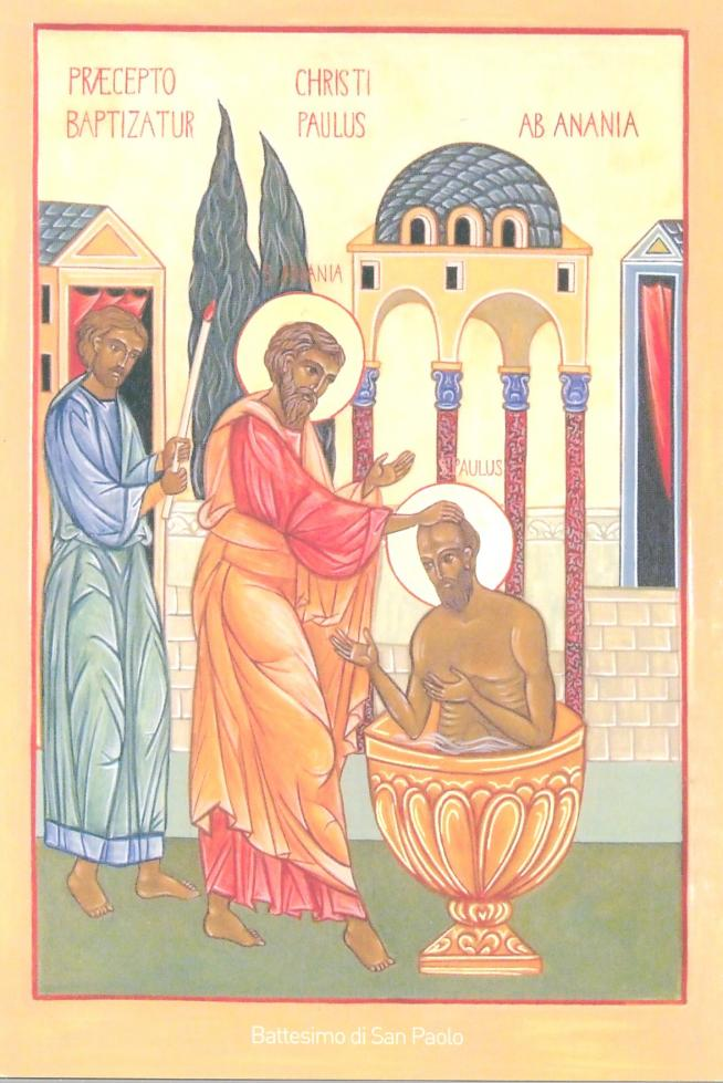 San paolo battesimo