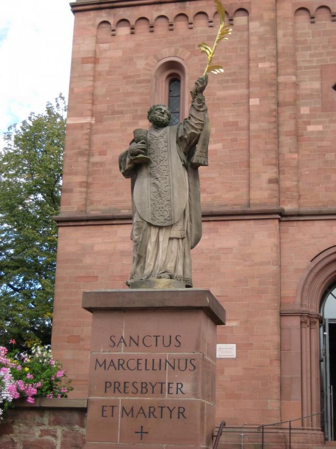 Sanctus marcellinus martyr germany seligenstadt 2007