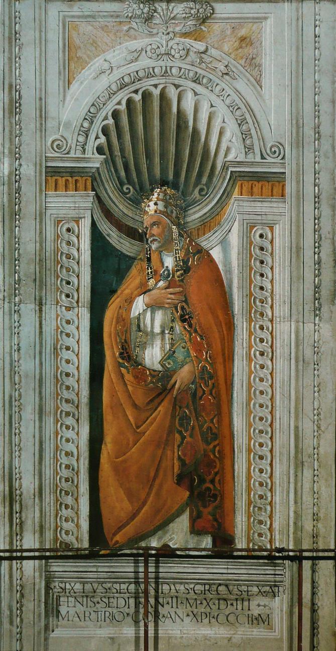 Sandro botticelli sixte ii