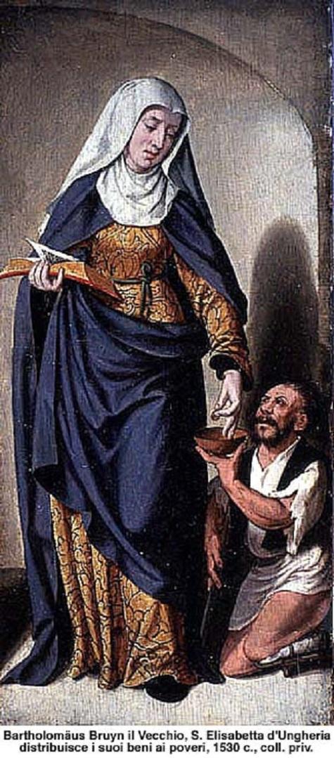 ✟Les Saints - Les Saintes du  Jour✟ - Page 18 Sant-elisabetta-dungheria-x.2