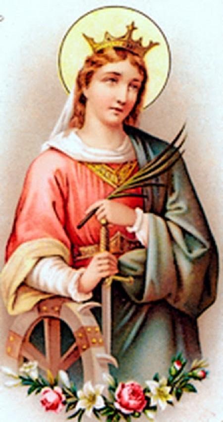 ✟Les Saints - Les Saintes du  Jour✟ - Page 18 Santa-catarina-de-alexandria91.2