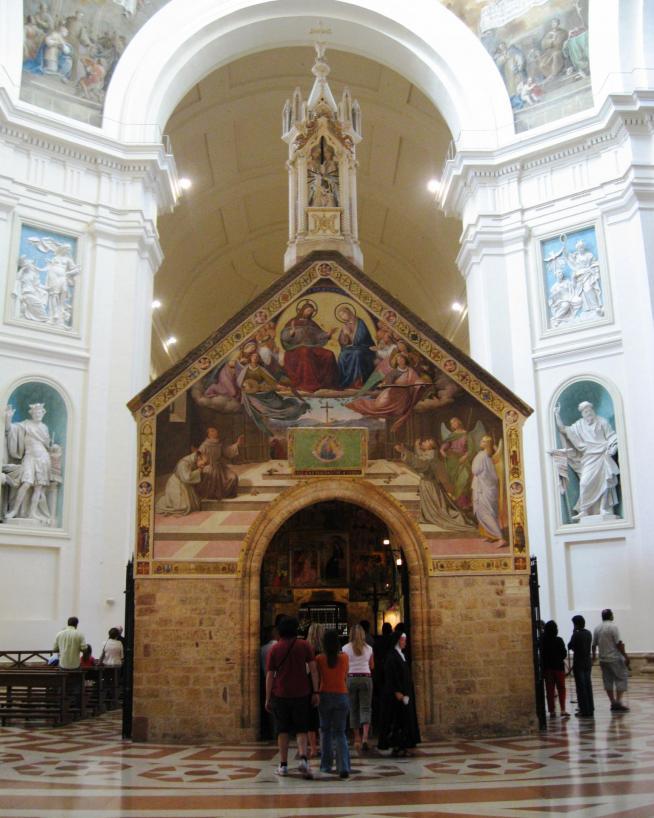 Santa maria degli angeli porcjunkula