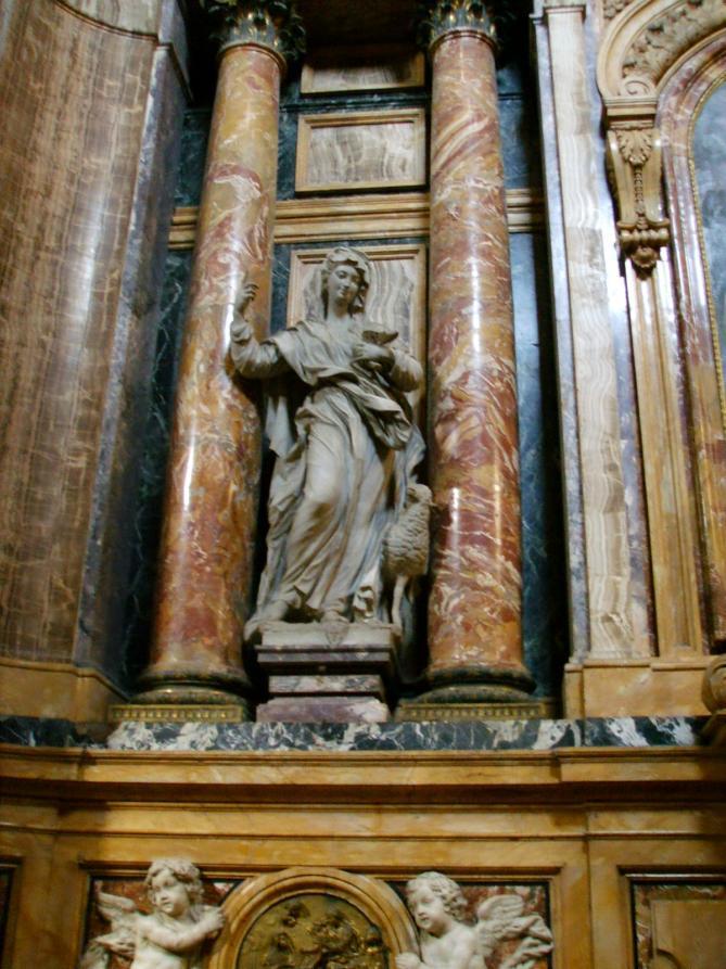 Santa maria maddalena de pazzi statua 03