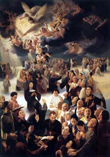 Santi martiri cinesi agostino zhao rong e compagni