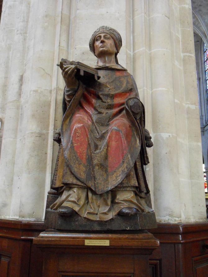 Sculpture saint germain l auxerrois 2