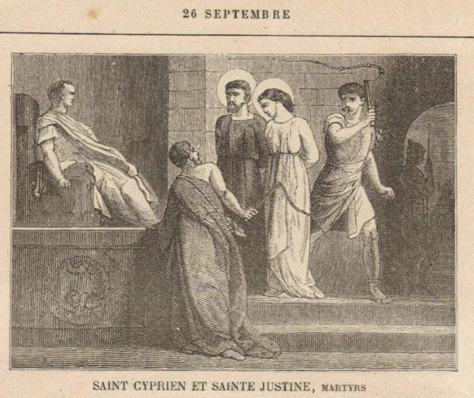 Sdj26sept saint cyprien et sainte justine