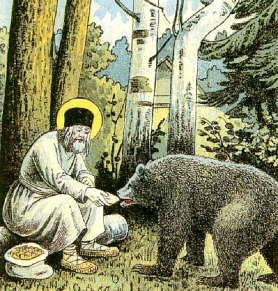 Serafim and a bear 2