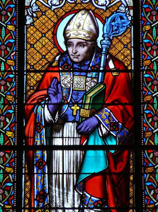 St alphonse marie de liguori vitrail de l eglise sainte marguerite le vesinet 92 france 1