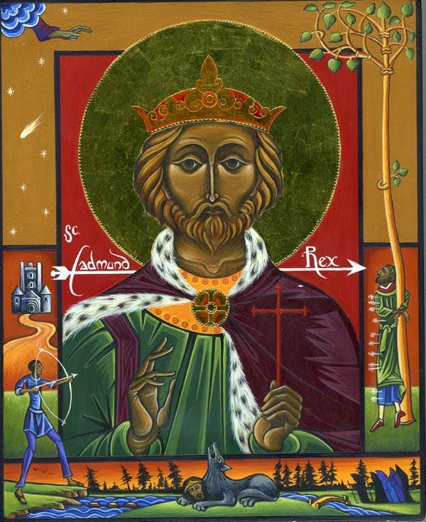 ✟Les Saints - Les Saintes du  Jour✟ - Page 18 St-edmund-martyr
