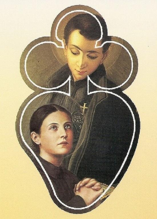 St gabriel of the sorrowful mother with st gemma 2