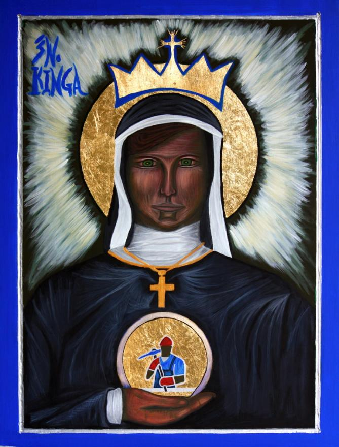 St kinga icon