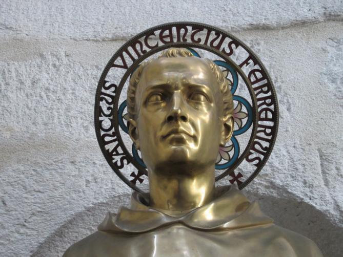 St vincent ferrer dominican friar died in vannes 1419ad
