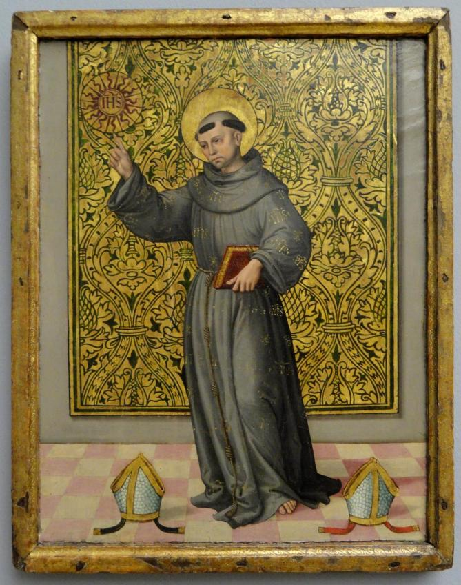 St bernardino of siena by unknown spanish master statens museum for kunst dsc08177 11