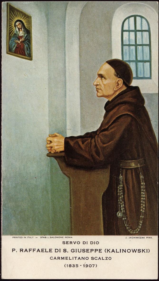 St raphael of st joseph kalinowski