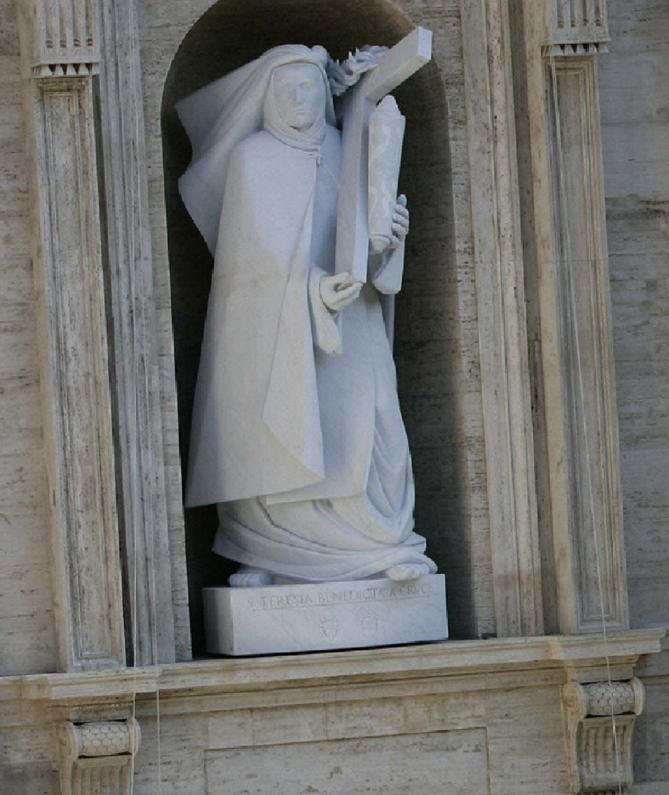 Statue d edith stein au vatican 211