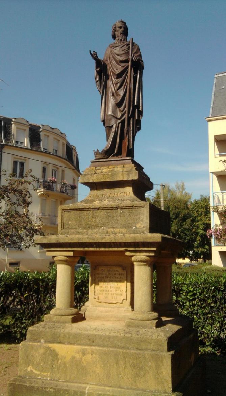 Statue de saint fiacre metz sablon 57