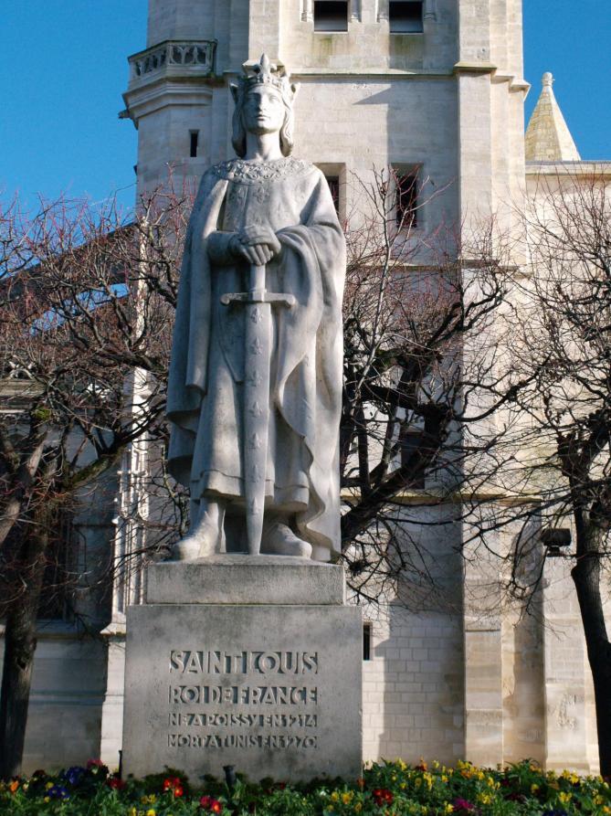 Statue de saint louis poissy 11