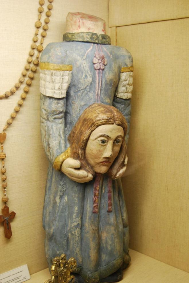 Statue de saint solange 11