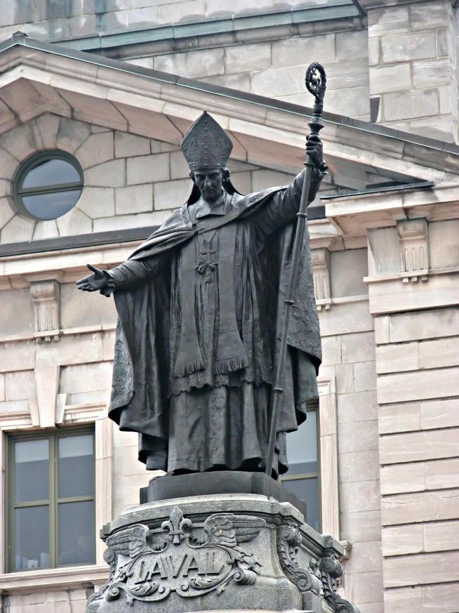 Statue fran ois de laval