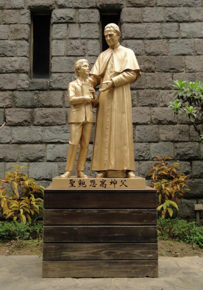 Statue of don bosco taiwan 02