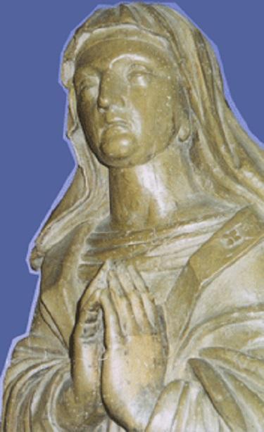 Statue saint flore
