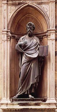 Statue saint matthieu 2