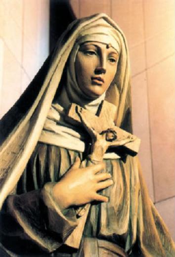 Statue sainte rita 1