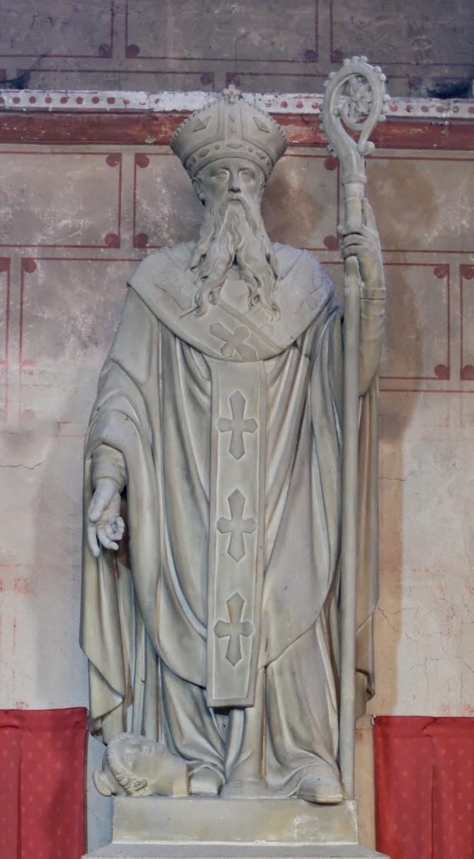 Statue st austremonius issoire