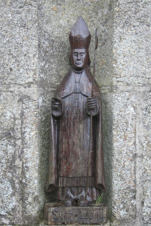 Statue st lubin