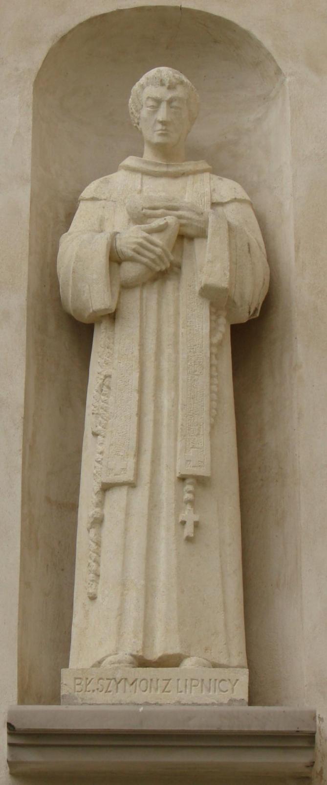 Szymon z lipnicy sculpture