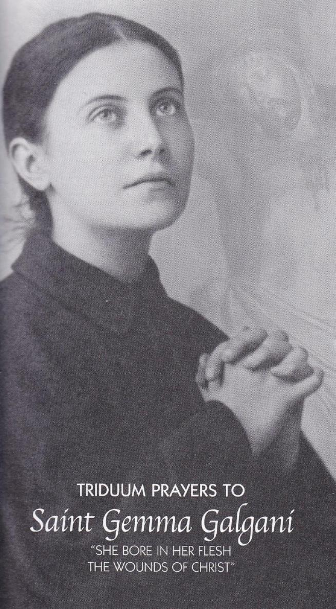 Triduum prayers to st gemma galgani 11 2